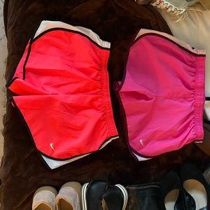 Set of 2 Kids Nike dri-fit shorts